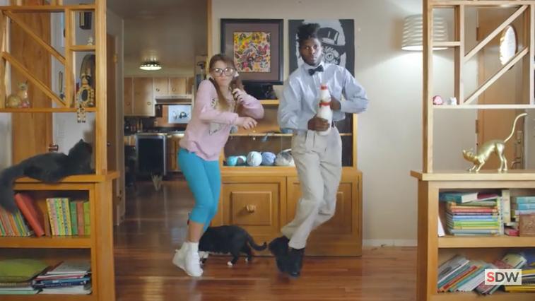 Cat Lady Dance 1