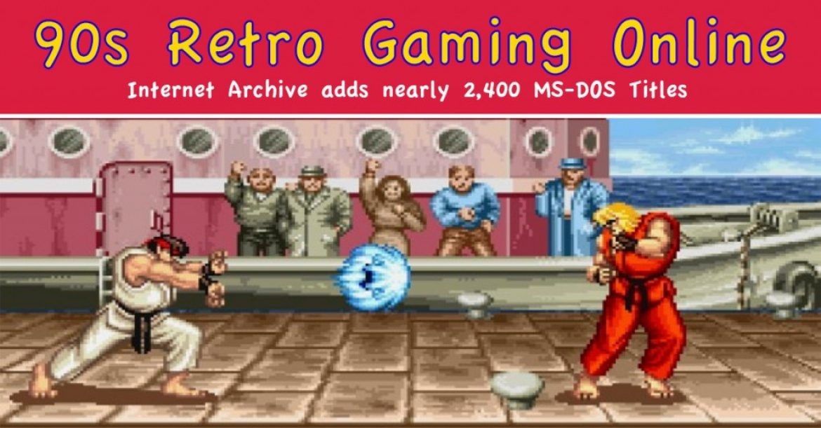 Retro 90s Video Games Online For Free!